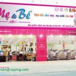 Làm biển quảng cáo Shop Cửa Hàng Mẹ và Bé