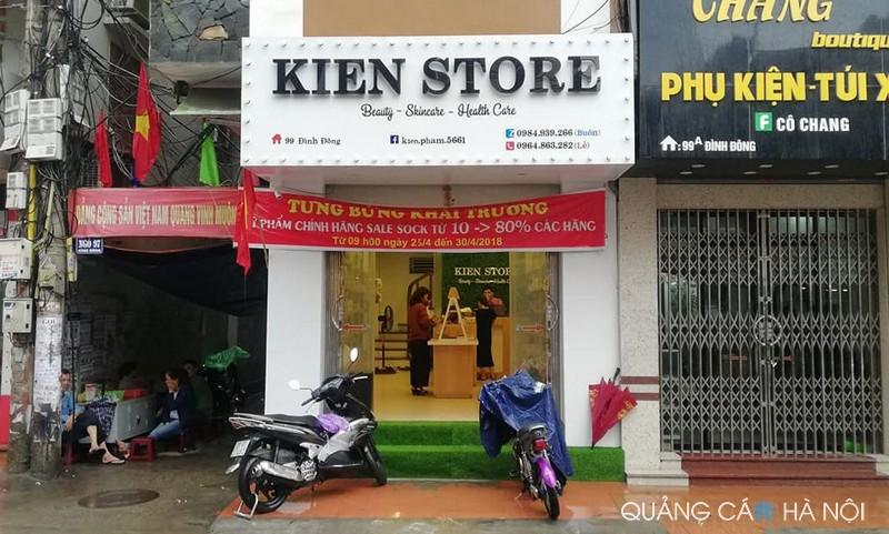 Tư Vấn Thiết Kế Thi Công Biển Quảng Cáo Shop