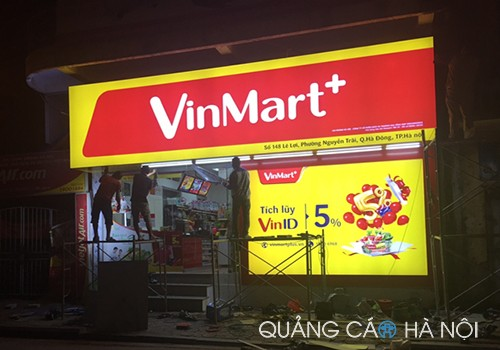 Làm biển quảng cáo 3m vinmart