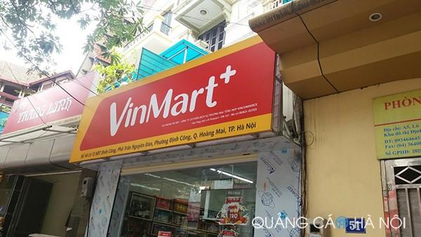 Làm biển quảng cáo vinmart